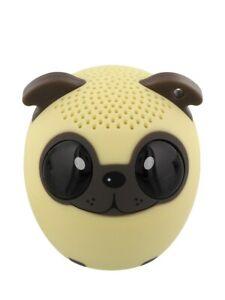 Bluetooth Speaker Dog Portable Mini and Remote Shutter Release 4.3x4.5cm