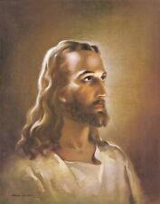 """Head of Christ Print by Sallman  Print Picture  8"""" x 10"""" ready to be framed"""