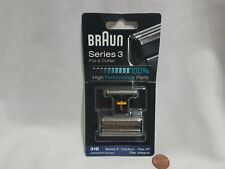 NEW Braun 31B Series 3 / 5000 / 6000 Shaving Foil & Cutter SEALED shave head