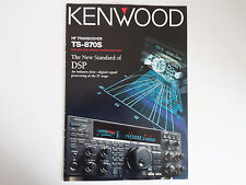 Kenwood TS-870S (authentique brochure seulement)... radio _ Trader _ Irlande.