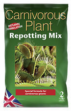 Carnivorous Plant Repotting Mix 2L - Venus Fly Trap / Pitcher Plant  Compost