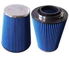 Jetex Universal Cone Air Filter 80mm Neck I/D Chrome End FC-8001