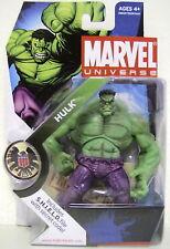 "Green Hulk Marvel Universe 4"" inch Action Figure #13 Series 1 Hasbro 2009"