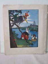 Vintage Print,MUSKRAT,Harrison Cady,Burgess,1945