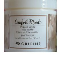 ORIGINS Whipped VANILLA Body Souffle Whipped Body Cream Lotion 3oz 90ml NEW
