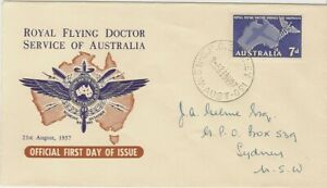 1957 Royal Flying Doctor Service First Day Issue