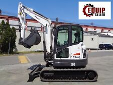 2012 Bobcat E60 Excavator - Enclosed Cab - Auxiliary Hydraulics - 2 Speed