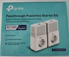 Extensor de red PLC TP-LINK TL-PA7010P KIT 1000Mbps Powerline gigabit rj45