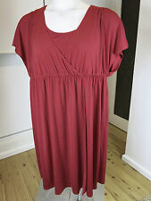 AUTOGRAPH SIZE 16 RED EMERALD MID LENGTH WRAP DRESS   New  RRP $89.95