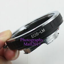 New EOS-LM Adapter for Canon EF Lens to Leica L/M M9 M8 M7 M6 M5 TECHART LM-EA7
