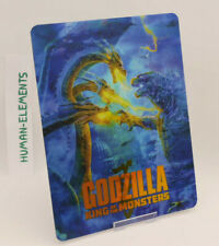 GODZILLA 2 King of The Monsters - Lenticular 3D Flip Magnet Cover FOR steelbook