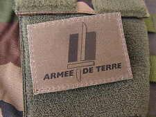 """SNAKE PATCH """" Armée de Terre """" BASSE VISIBILITE OD KAKI OTAN écusson félin"""
