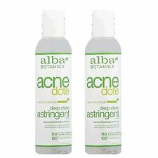 Alba Botanica Natural Acnedote Deep Clean Astringent, 6 Ounce (Pack of 2)