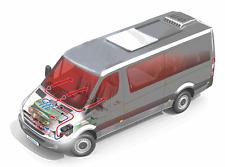 Webasto Standheizung Aufrüsatz  für VW T5 , Diesel, 9012103D, 9012104E