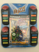Buzz Junior: Robo Jam Bundle (Sony PlayStation 2, 2008) - new sealed ps2