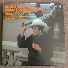 REGINE CRESPIN PRIMA DONNA IN PARIS, Decca, Stereo SET 520-1, box of 2 LPs
