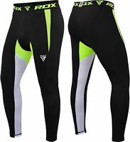 RDX Compression Pants Long Leggings Base Layer Trouser Jogging Running Sports US