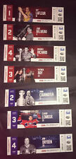 Unused Tickets Canadiens Hockey 2015