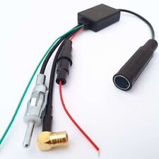 ✅ DAB + Antenne Splitter Radio DAB Adapter FM Antennenverstärker Frequenzweiche