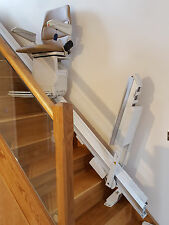 STANNAH 420 STAIRLIFT POWERED HINGE RAIL WITH 12 MTHS GUAR: MOBILITY EQUIPMENT