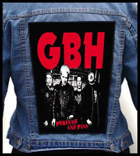 GBH - Perfume and Piss --- Giant Backpatch Back Patch