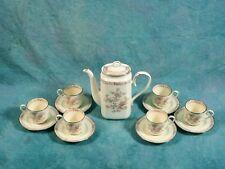 NORITAKE IMPERIAL GARDEN Bone China Cofee/Tea Set Large Pot VINTAGE