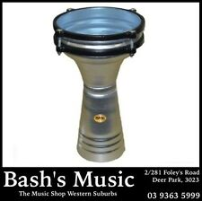 "NEW Mano Percussion MP975 5.5"" Darbuka Aluminium shell - NEW"