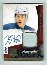 10-11 UD The Cup  Keith Aulie  /59  Gold Spectrum  Auto  Patch  Rookie