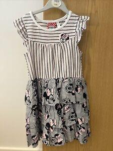 Minnie Mouse Girls Ruffle Detail Dress BNWT Size 4-5