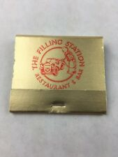 Matchbook The Filling Station Restaurant & Bar Mirror Theme w/Sticks Collectible