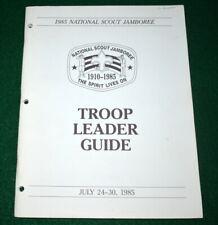 BOY SCOUT 1985 JAMBOREE TROOP LEADER GUIDE   ##