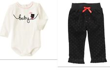 NEW GYMBOREE Kitten Top and  Corduroy Pants Outfit  NWT SIZE 6-12 MTHS