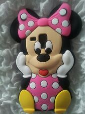AU- SILICONE CASE MINNIE1 PINK FOR SAMSUNG GALAXY S DUOS S7562/TREND S7560