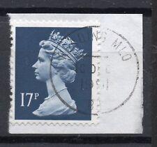 GB = QE2 Postmark - `READING MLO / B1` 1991 Single Ring cancel (z)