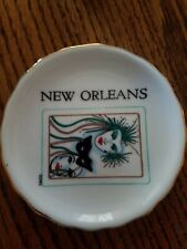 Miniture cup and saucer set from New Orleans.