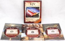 KJV The Complete Bible On DVD 2006 3-Disc Deluxe Box Set Old and New Testaments