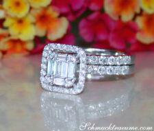 Diamant-Ringe im Verlobungs-Stil aus Weißgold mit Diamanten