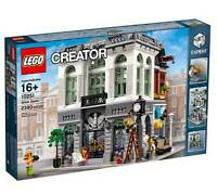 LEGO Creator Expert Brick Bank Building Kit (2380 Pieces) For Kids Presents