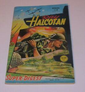 RAY HALCOTAN NO.8  FRENCH EDITION 1960 ARTIMA WAR COMIC FREE SHIPPING*