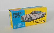 Repro Box Corgi Nr.258 The Saints Car Volvo P.1800