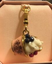 New in Box Juicy Couture Ice Cream Cup Sundae Charm