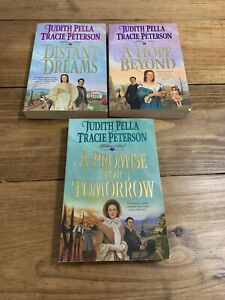 Judith Pella, Tracie Peterson~Lot 3 TPB~Complete Ribbons of Steel Trilogy