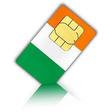 SIM Karte für Irland Nano mit 3 GB Datenvolumen