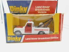 DINKY TOYS 442 * LAND ROVER BREAKDOWN VEHICLE * OVP * 1:43 * 1977 * MECCANO