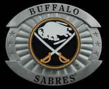 BUFFALO SABRES LARGE SIZE BELT BUCKLE LICENSED NEW
