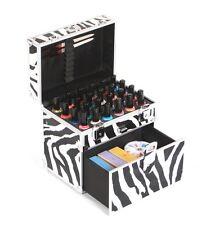Urbanity BOTTIGLIA SMALTO VERNICE bellezza Cosmetici make BEAUTY CASE BOX Zebra