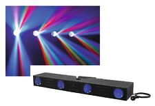 EUROLITE LED Lichtanlage MAT-Bar 4x64 Matrix-Leiste DMX Mikrofon Flowereffekt
