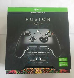 PowerA Fusion Pro Wired Controller for Xbox One/S/X - BLACK