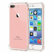 """For iPhone 7 4.7"""" Transparent Crystal Clear Case Gel TPU Soft Cover Shockproof"""