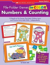 File-Folder Games in Color: Numbers & Counting: 10 Ready-to-Go Games That Help C